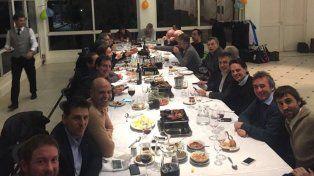 Quiénes se sentaron en la mesa con Macri para festejar el Día del Amigo