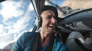 Manu Ginóbili sorprendió con una aventura de 360 grados en helicóptero