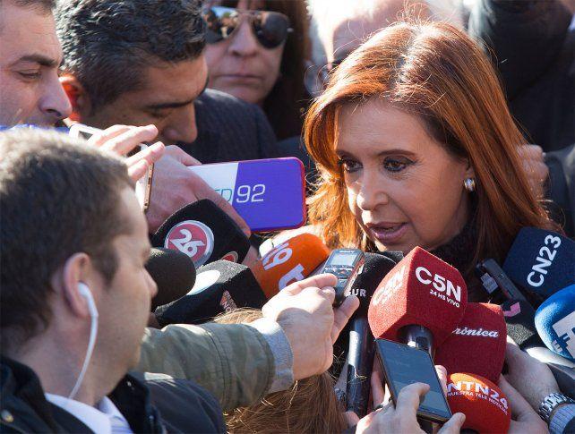 Creí que nunca mas iba a vivir en un país con presos políticos, aseguró Cristina Kirchner