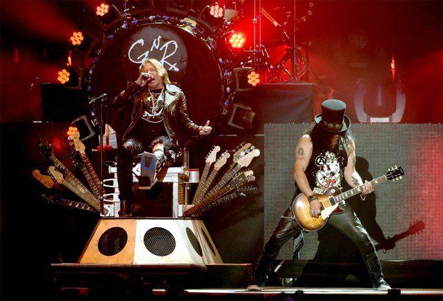 Guns N Roses podría tocar en Rosario en el marco de una gira internacional