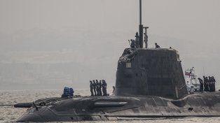 Tensión con España. El sumergible sufrió daños en su torreta.