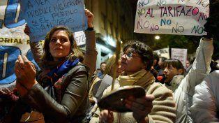 Ruidazo. Las protestas contra la suba hizo retroceder al gobierno de Macri.