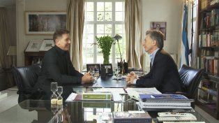 Macri  le dijo a Fantino que el año que viene la inflación va a estar debajo del 20 por ciento