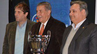Por la Copa. Lanzaro y Giammaría valorizaron el torneo provincial.