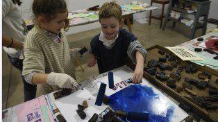 Todos los niños pudieron participar de propuestas didácticas, divertidas e innovadoras durante estas vacaciones