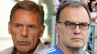 Tras reunirse con Bauza, Pérez se juntará con Russo y también piensa en Bielsa para la selección