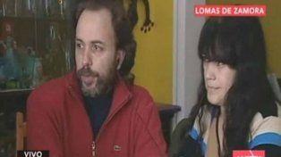 A salvo. Marcelo y Silvana después de la odisea a manos de los maleantes.