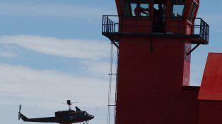 Mejoras. La torre de control de la base antártica será dotada de radares y sistemas electrónicos para vuelos por instrumentos.