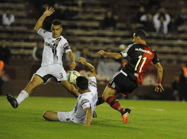 Maxi Rodríguez en acción