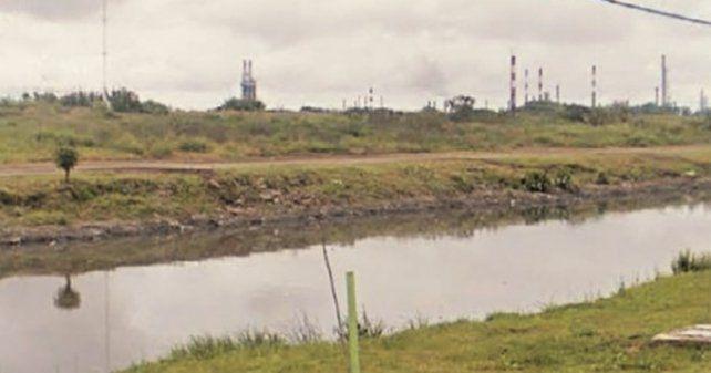 La zona donde fue hallado el cádaver.