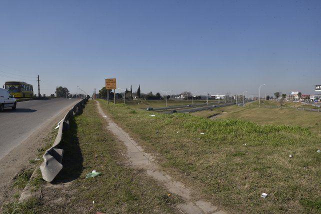 El accidente ocurrió esta mañana en Circunvalación. (Foto Archivo)