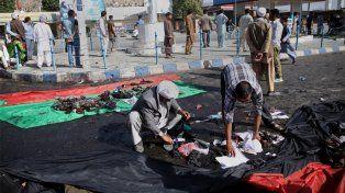 Al menos 80 muertos en un atentado en una marcha de protesta en Afganistán