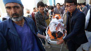 Masacre. El atentado islámico tuvo lugar al final de una protesta pacífica contra el proyecto de tendido eléctrico.