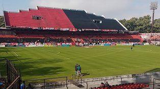 Todo listo en el Coloso para el clásico entre Newells y Central por la Copa Santa Fe