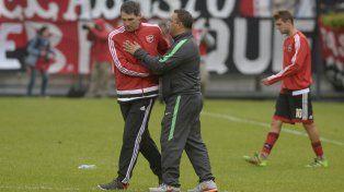 El técnico canalla rescató que el empate es un buen resultado por cómo se dio el partido