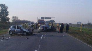 Un rosarino falleció en el grave accidente sucedido esta tarde en la Autopista Rosario-Santa Fe