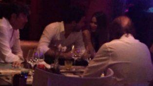 Pampita y Nacho Viale cenaron en Ibiza.