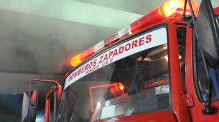Incendio en una parroquia en el sudoeste rosarino