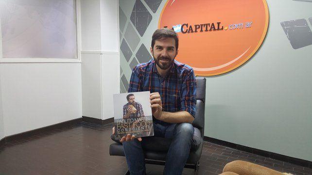 Pablito Martin publicó un libro en el que propone recetas rápidas y saludables.