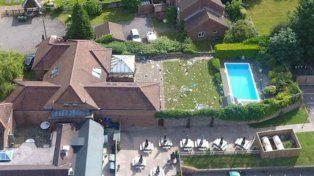 Una masiva fiesta swinger en una lujosa mansión terminó con un muerto y heridos