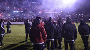 El último banderazo fue el jueves pasado en el Coloso, previo al choque de ayer ante Central en el Marcelo Bielsa.