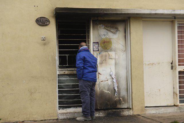 Bufano 3117. El frente de la vivienda