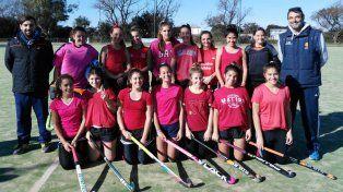 Litoral A. Las chicas seleccionadas de Rosario representan un 5% de todas las jugadoras de su categoría. Un honor.