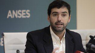 Reparación. El titular de la Ansés, Emilio Basavilbaso, explicó detalles.
