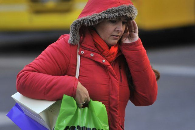 Hoy se espera muy baja sensación térmica en la región.