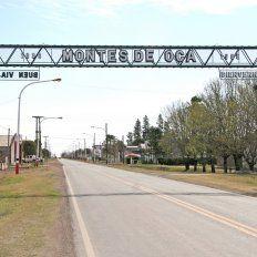 Montes de Ocaes una comuna del departamento Belgrano.