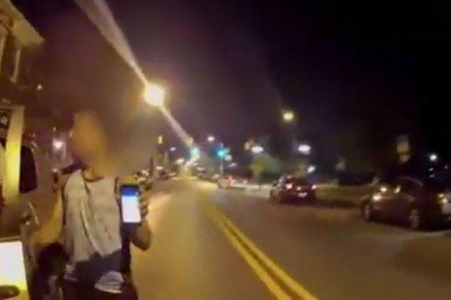La policía de Estados Unidos pidió precaución al manejar.