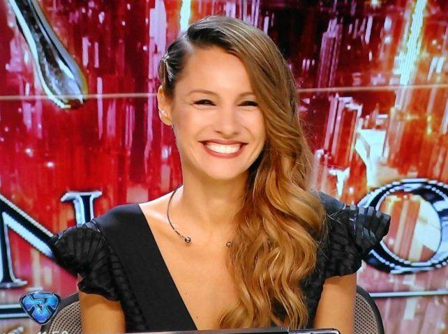 Pampita regaló sonrisas en su regreso a ShowMatch.
