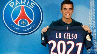 El PSG francés anunció oficialmente la contratación de Giovani Lo Celso