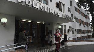 Olivé 1159. La interventora del policlínico había señalado que para realizar obras necesita un contrato de locación de la provincia y un aval municipal.
