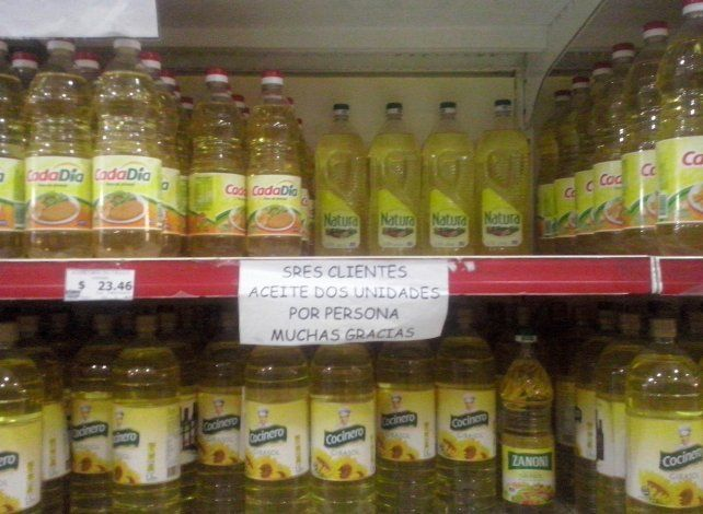 ¿Venezuela? Los rumores sobre el aceite alentaron una psicosis.