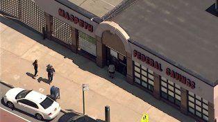 Del Banco Maspeth robaron 296 mil en efectivo y 4,3 millones de dólares en objetos de valor.