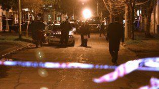 Esquina. El lugar donde se produjo el tiroteo fatal, en el barrio Alberdi.