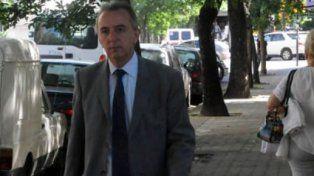 El juez. Marcelo Bailaque indagó ayer a la mañana a uno de los acusados.