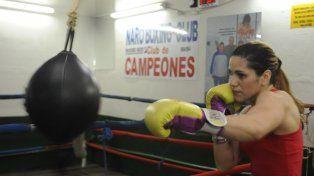 Segura. La boxeadora rosarina se siente confiada de quitarle el título a la Pantería Farías, la mejor argentina campeona mundial de la actualidad.
