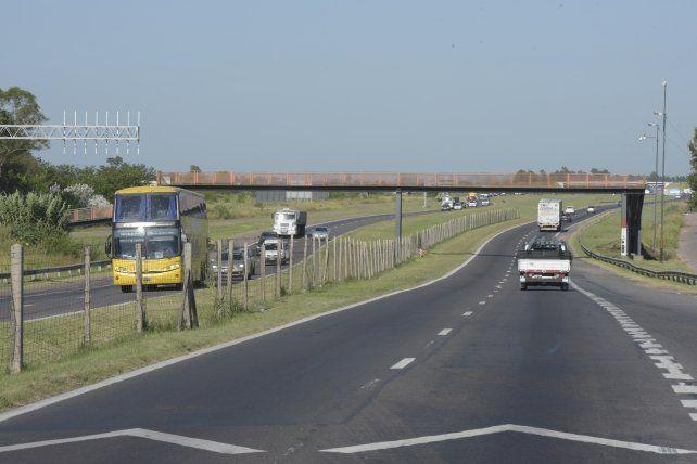 La salida hacia Córdoba por autopista