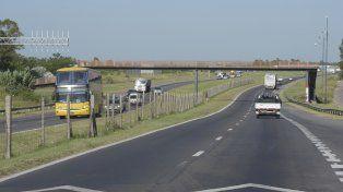 La salida hacia Córdoba por autopista, un lugar donde los asaltos son muy frecuente