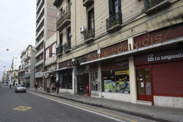 El asalto se produjo ayer a la tarde en la zona de Corrientes y Catamarca.