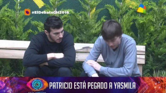 Malestar con Patricio al que acusan de olvidarse de jugar por estar embobado con Yasmila