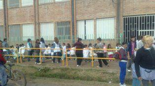 La escuela 1.318 está en Saavedra al 6100.
