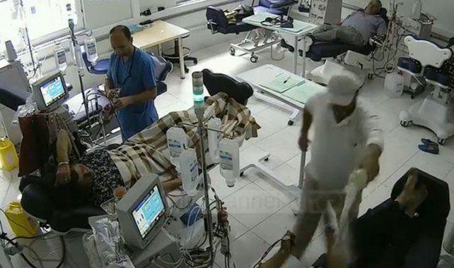 Un hombre se prendió fuego y mató a dos pacientes de un hospital