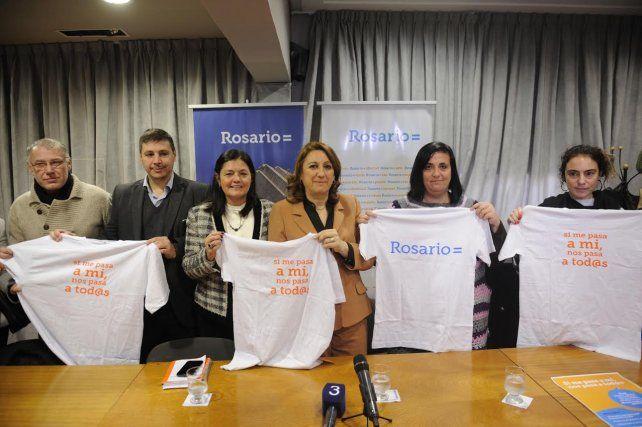 La intendenta Mónica Fein se puso al frente de la campaña de acoso en el transporte público.