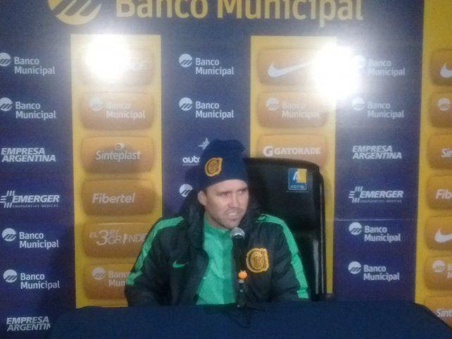 El Chacho Coudet aseguró que Teo Gutiérrez le va a dar un salto de calidad a Central