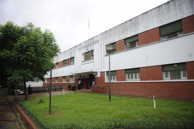El hombre herido fue derivado al Hospital Alberdi