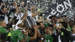 Las mejores imágenes de la consagración de Atlético Nacional que ganó la Copa Libertadores