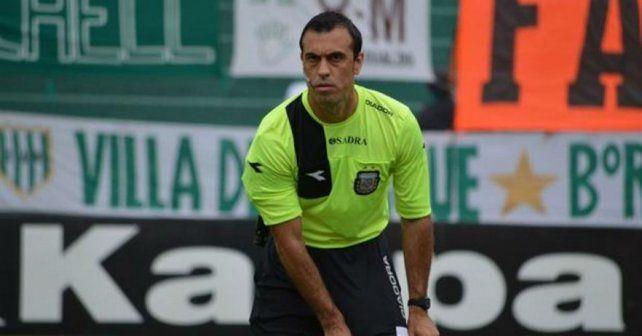 Jorge Baliño será el árbitro del domingo para el clásico definitorio por la Copa Santa Fe